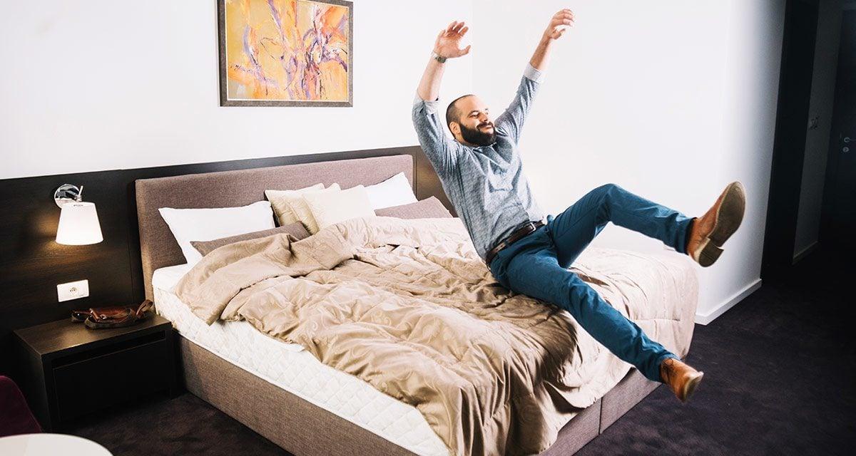 Ermitteln Sie den richtigen Härtegrad für Sie und Ihren Bettpartner.