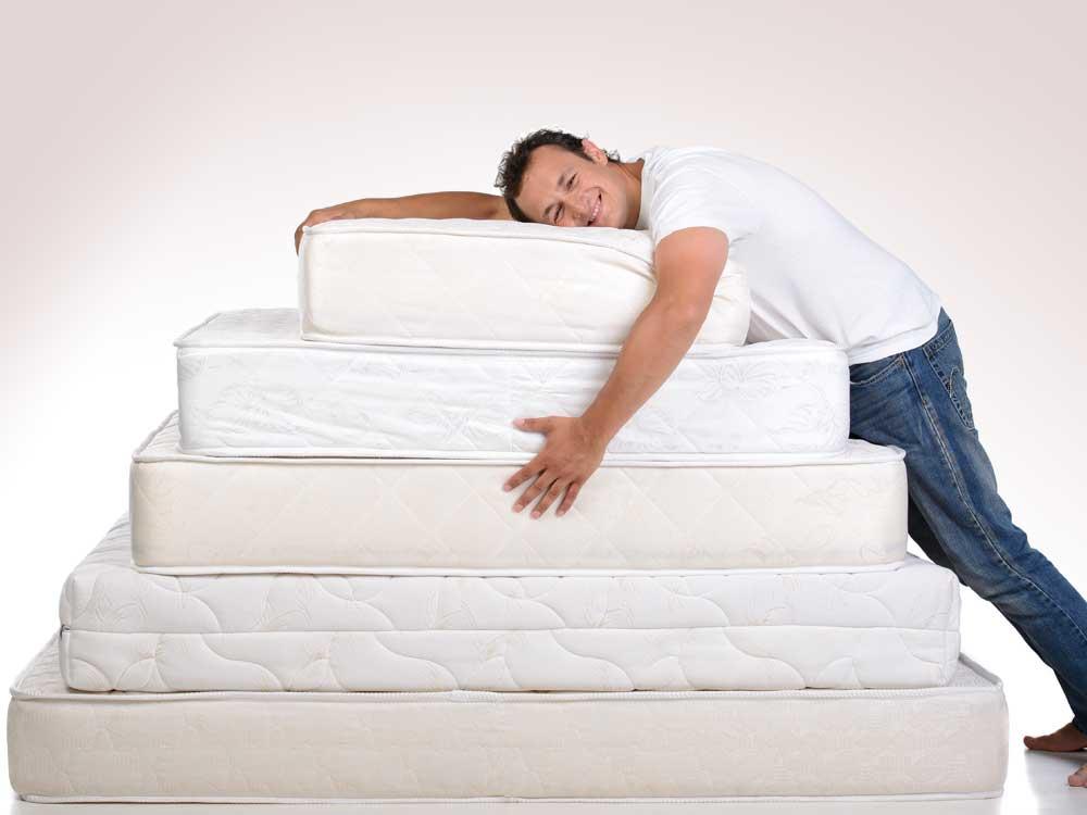 Tipp №1: Kennen Sie alle Matratzentypen und deren Vor- und Nachteile.