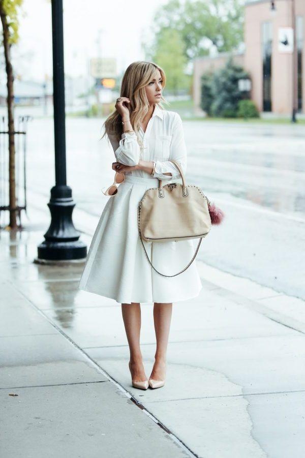 Sommermode: Die weißen Klamotten sind immer in