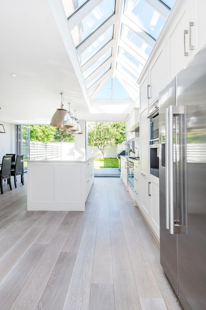 Neue Tendenzen: Parkett in der Küche