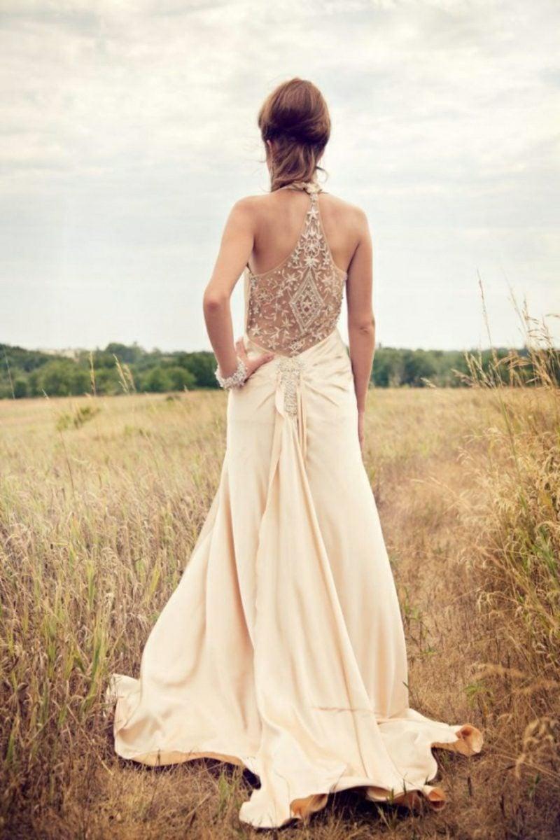 Vintage Hochzeit romentsches Brautkleid