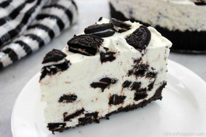 Oreo Cheesecake schmackhaftes Rezept