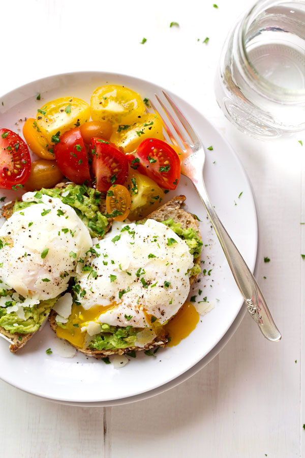Sommer Rezepte Eier zum Frühstück