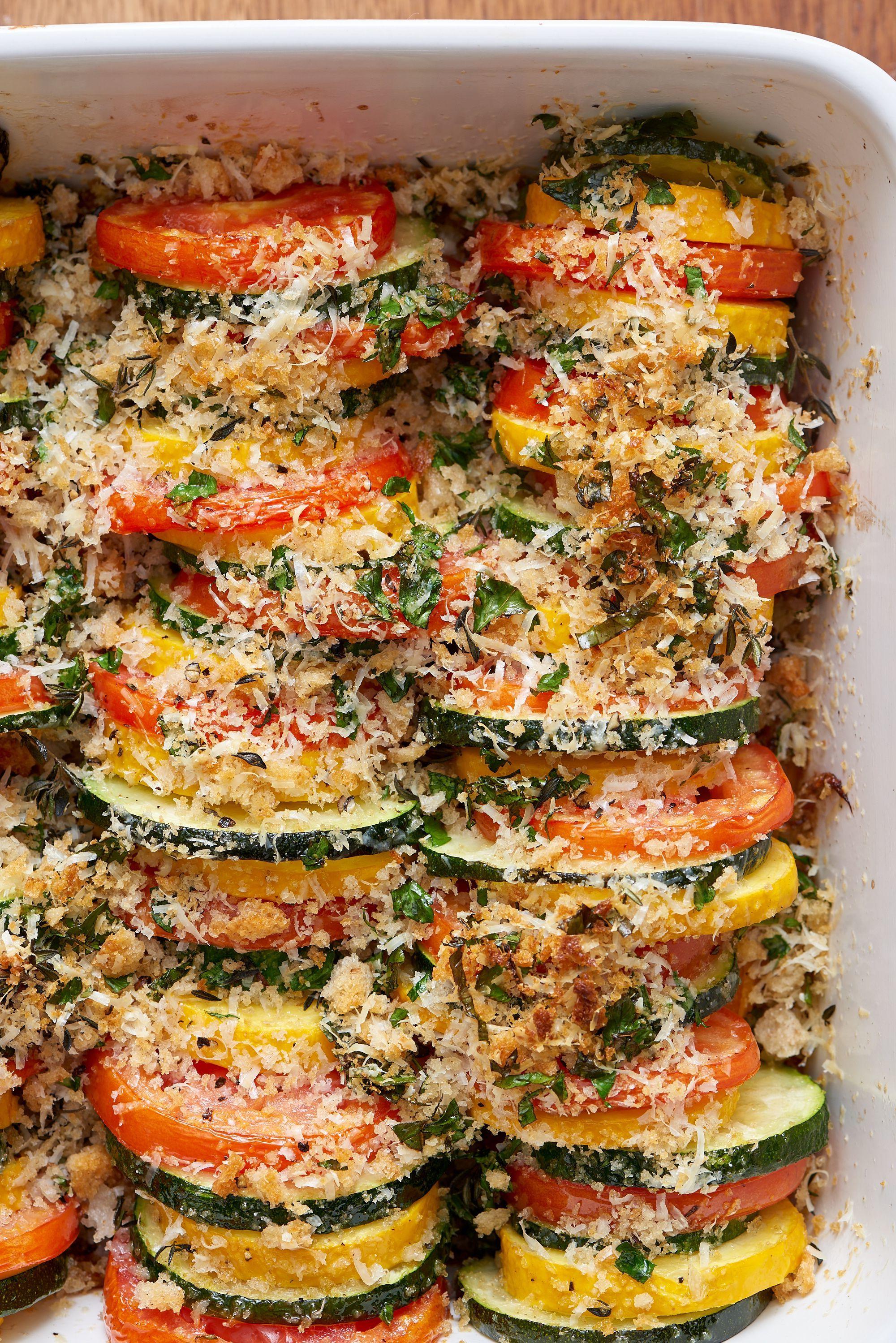 Sommer Rezepte mit Gemüse