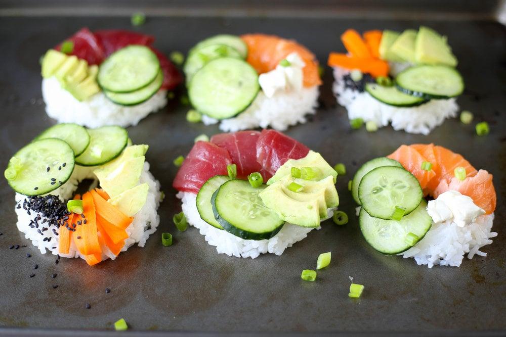 Viele tolle Ideen für ein Sommer-Menü: Sushi selber machen