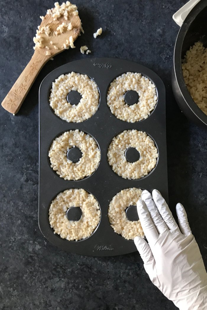 Schritt für Schritt Anleitung für Donuts- Sushi selber machen