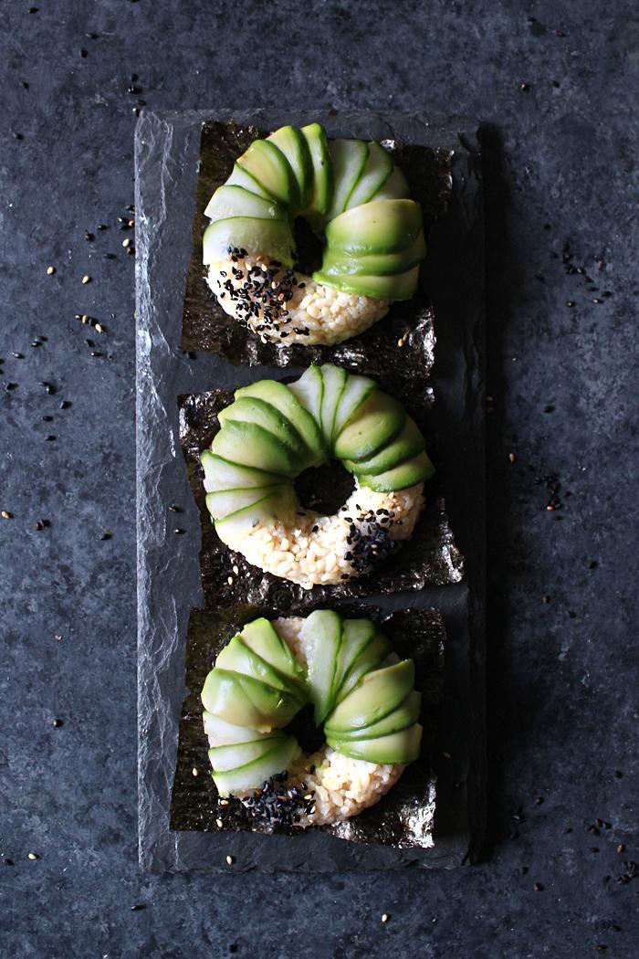 Vegan Donut Sushi selber machen