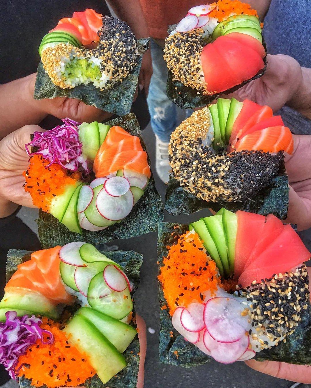 Mädelsabend Menü - Tolle Ideen fürs Sushi selber Machen