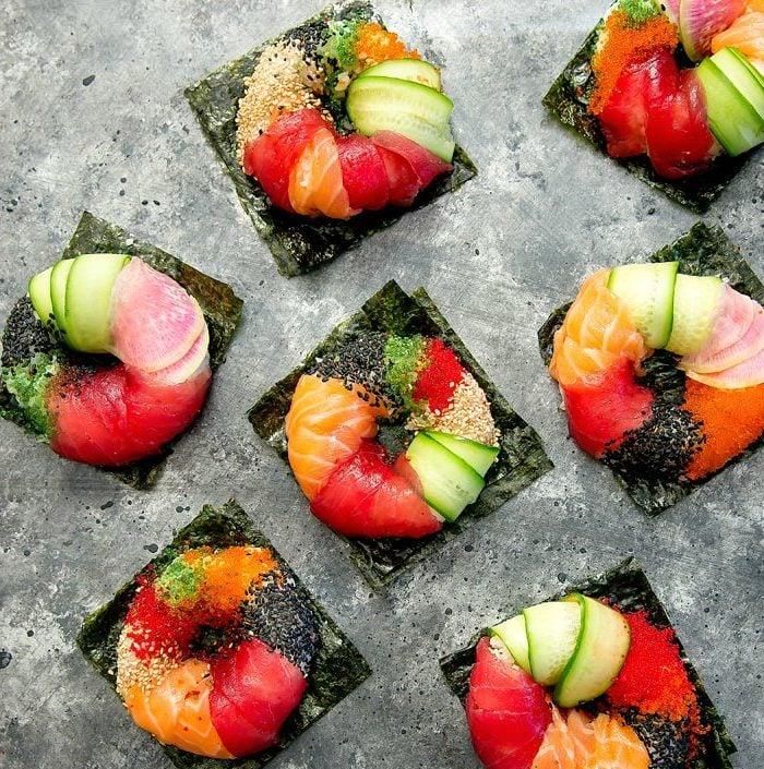 Mädelsabend Menü - Coole Ideen fürs bunte Sushi selber Machen