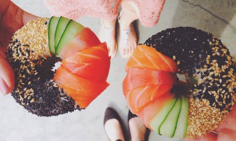 sushi selber machen leckere sushi donuts f r einen gesunden m delsabend rezepte zenideen. Black Bedroom Furniture Sets. Home Design Ideas