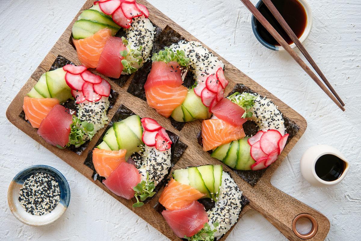 Mädelsabend Menü - Coole Ideen fürs Sushi selber Machen