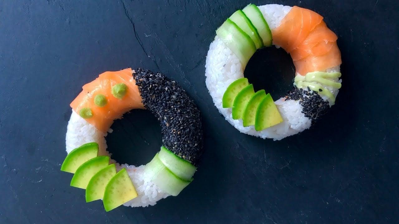 Echter Gaumenschmauss - die Sushi-Donut