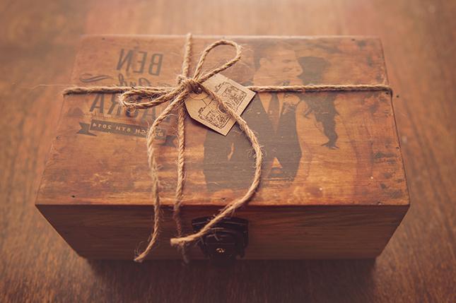 Vatertag 2018: Eine wunderschöne Holz-Schachtel im Rustikal-Stil und Persönlichkeit!