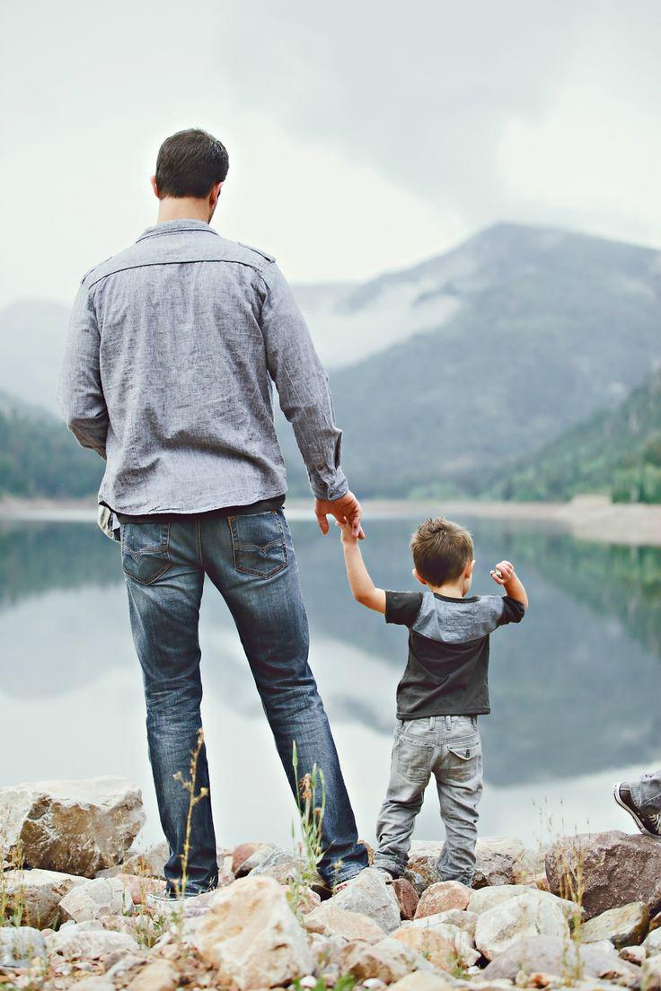 Vatertag Bilder:Fühlen Sie die Vater-Kinder-Liebe