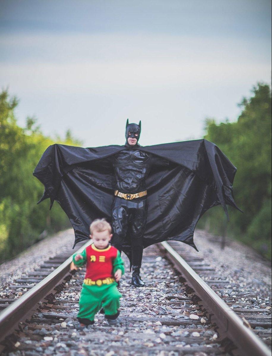 Vatertag Bilder: Mein Vater ist mein Held