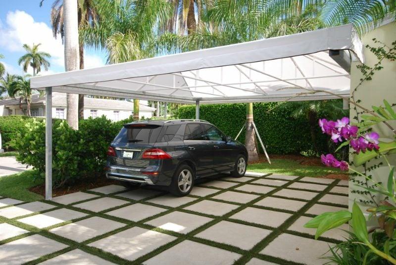 carport selber bauen hilfreiche tipps f r den bau und. Black Bedroom Furniture Sets. Home Design Ideas