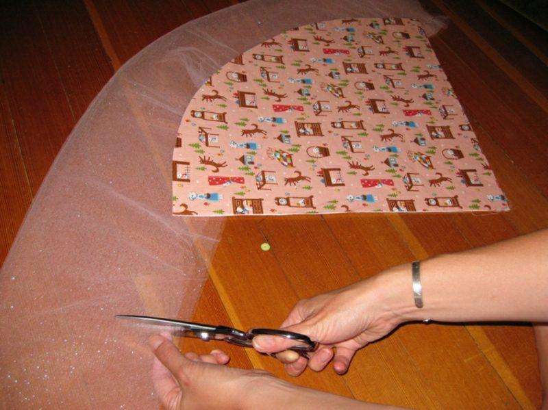 Schultüte basteln aus Stoff
