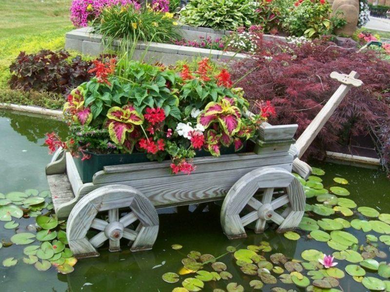 Ausgefallene Gartendeko selber machen: tolle Upcycling-Ideen