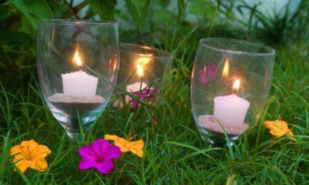 Ausgefallene Gartendeko selber machen kreative DIY Ideen