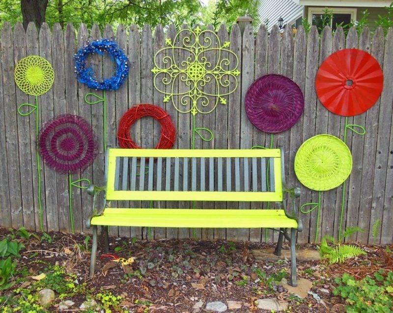 Gartenideen Für Wenig Geld Bunte Farben Verwenden