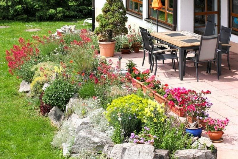 inspirierende Gartenideen für wenig Geld