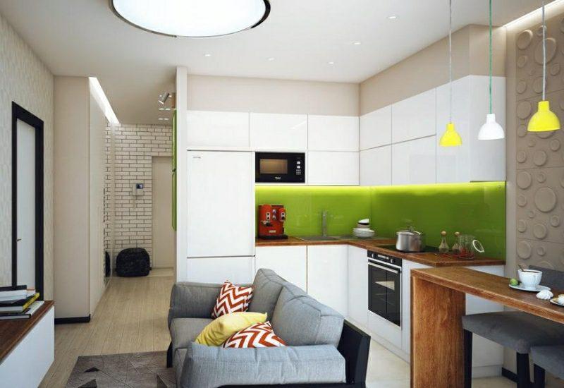 kleine Küchen einrichten funktional und praktisch