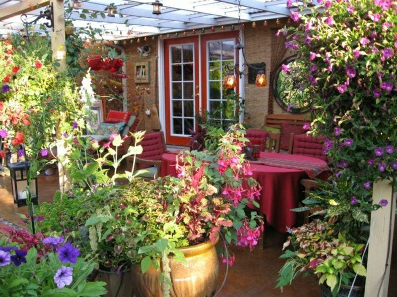 Gestaltung kleiner Garten tolle Ideen einlandendes Ambiente