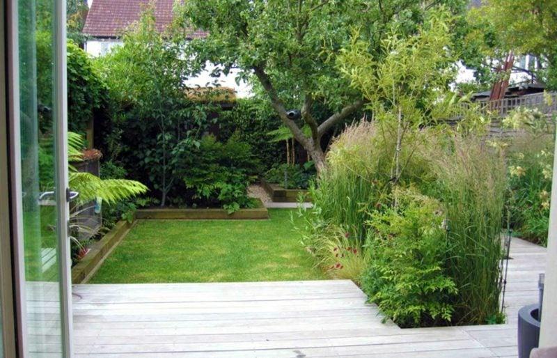 Gestaltung kleiner Garten moderne und platzsparende Ideen