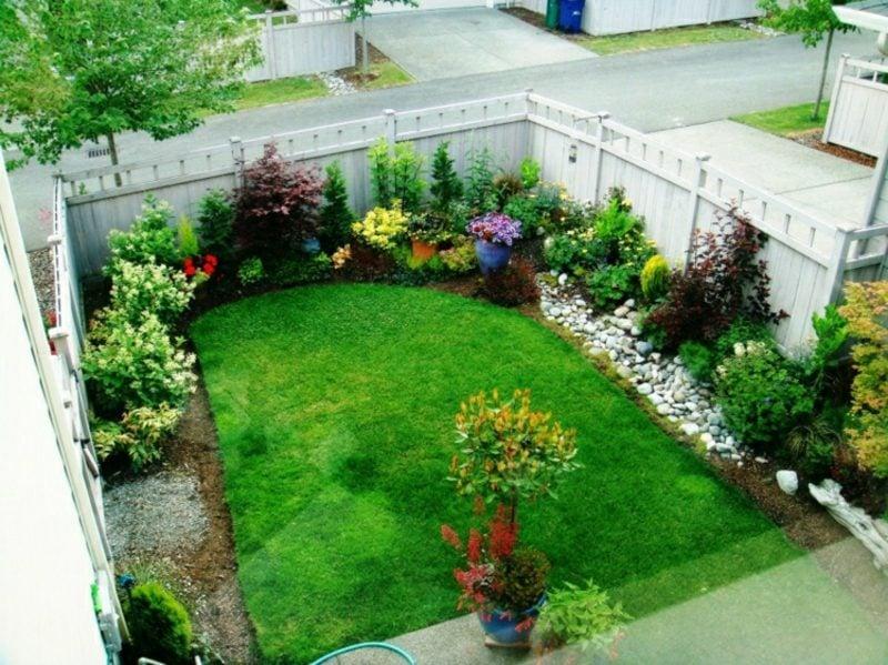 Gestaltung kleiner Garten den vorhandenen Platz maximisieren