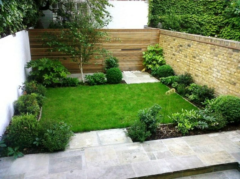 Gestaltung kleiner Garten ordentlich und platzsparend