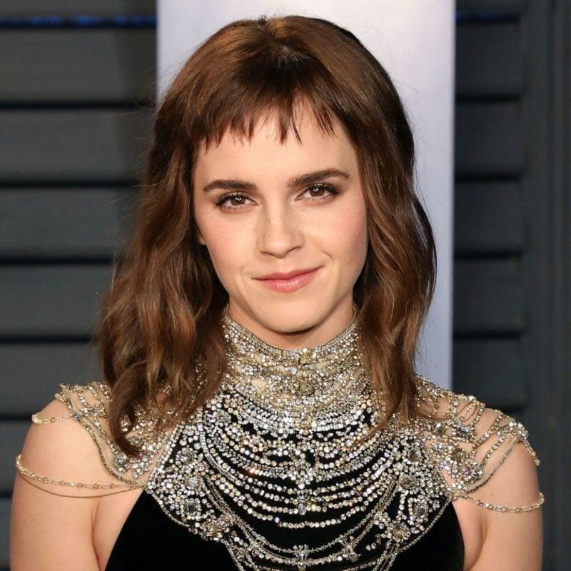Pony schneiden kurz Emma Watson