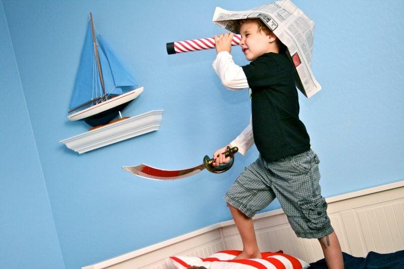 Die wichtigste Ausstattung für die perfektePiratenparty:5 umwerfende Bastelideen für Kinder
