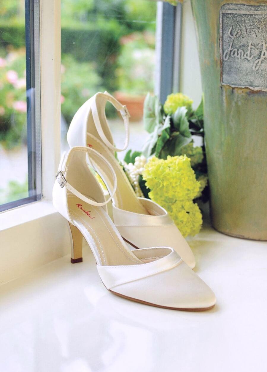 Mit den richtigen Brautschuhen machen Sie den schönsten Tag Ihres Lebens zueinem unvergesslichen Auftritt