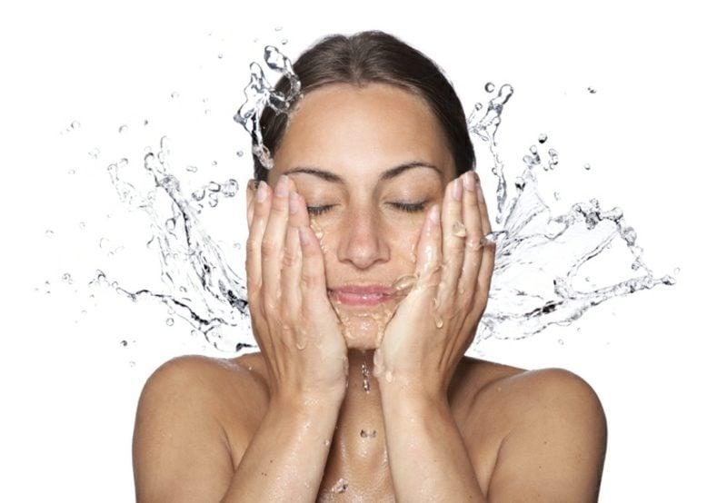Quarkmaske gegen Falten die Haut reinigen