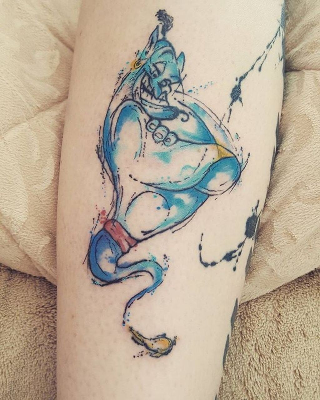 Disney Tattoo Aladin