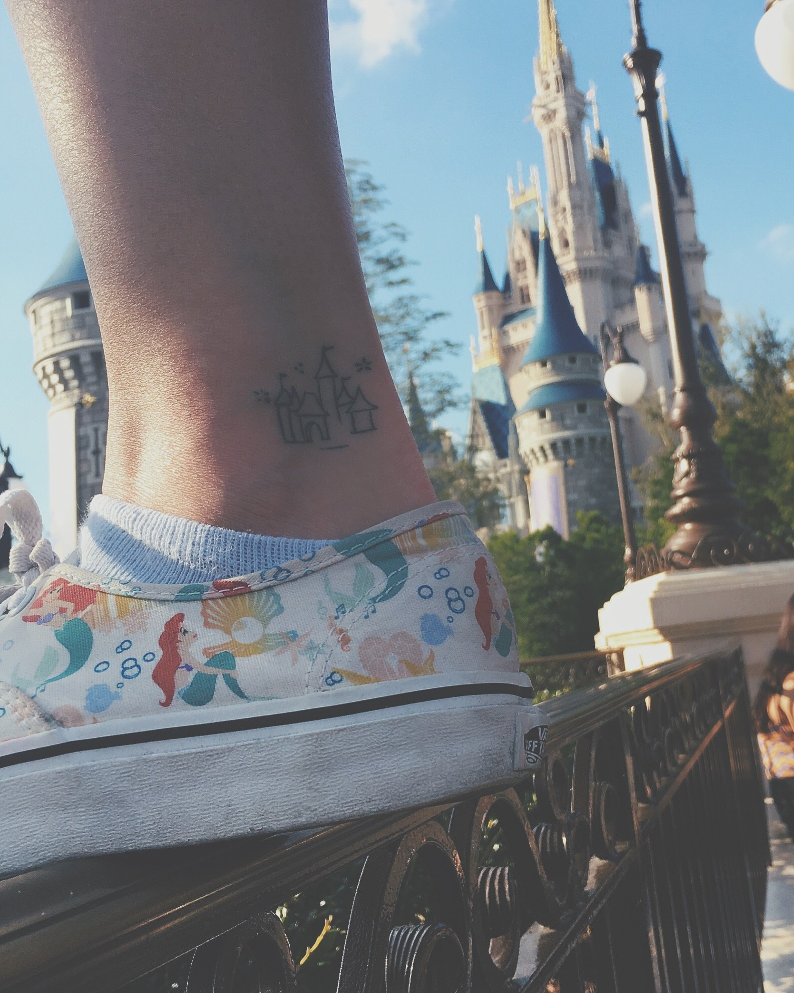 Disney Schloss Tattoo