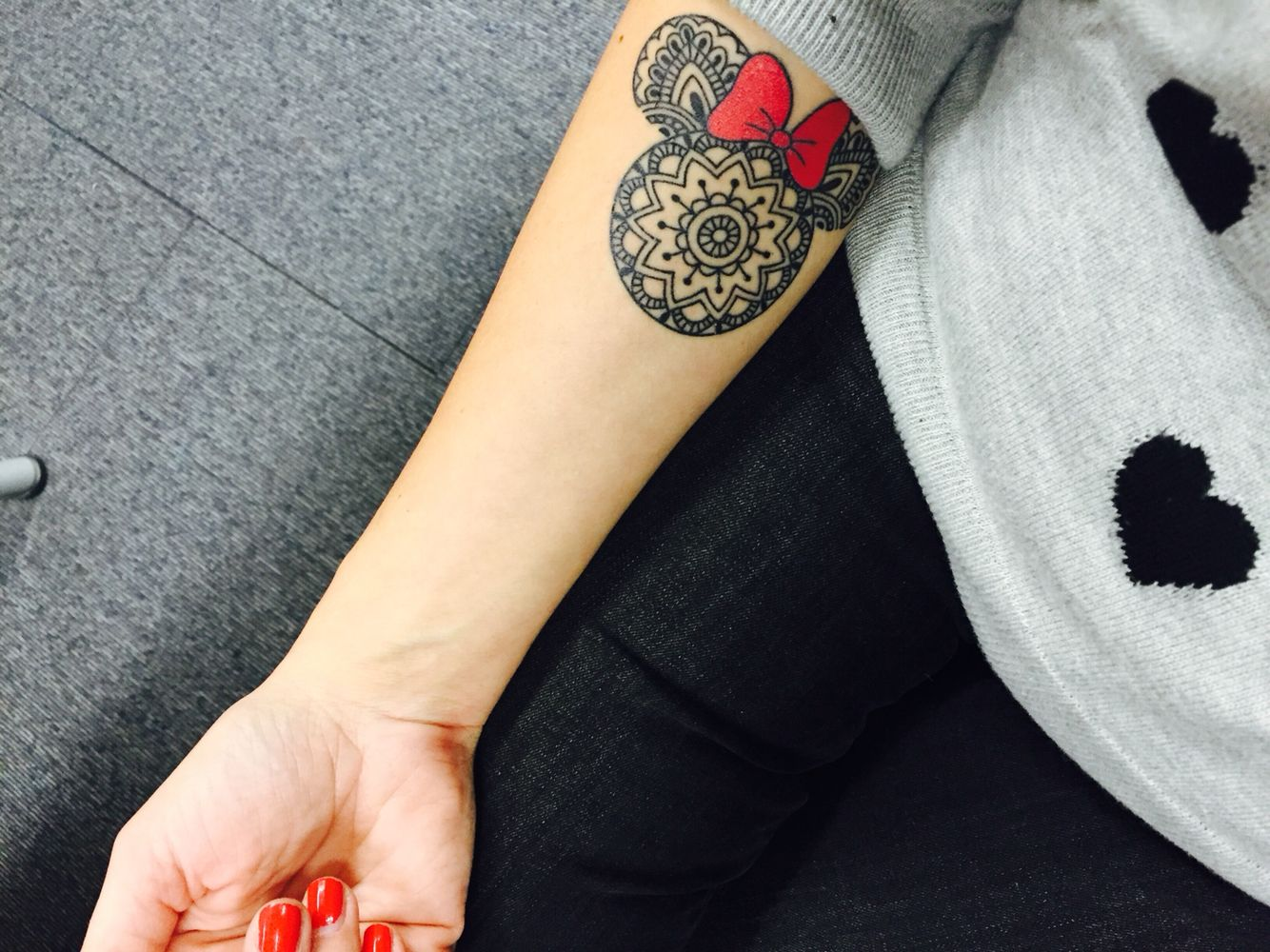 Minney Disney Tattoo Mandala