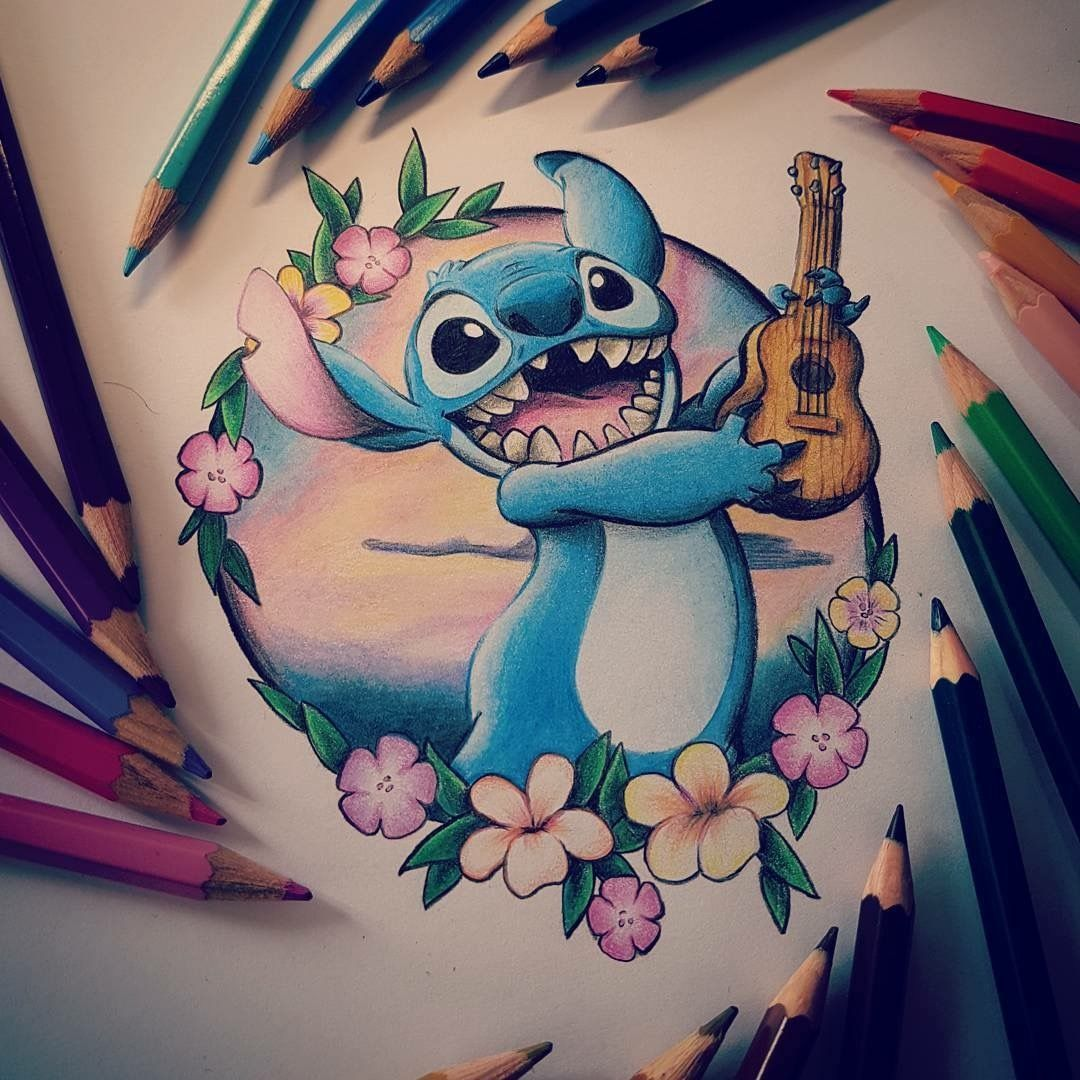 Disney Tattoo Stitch Tattoo