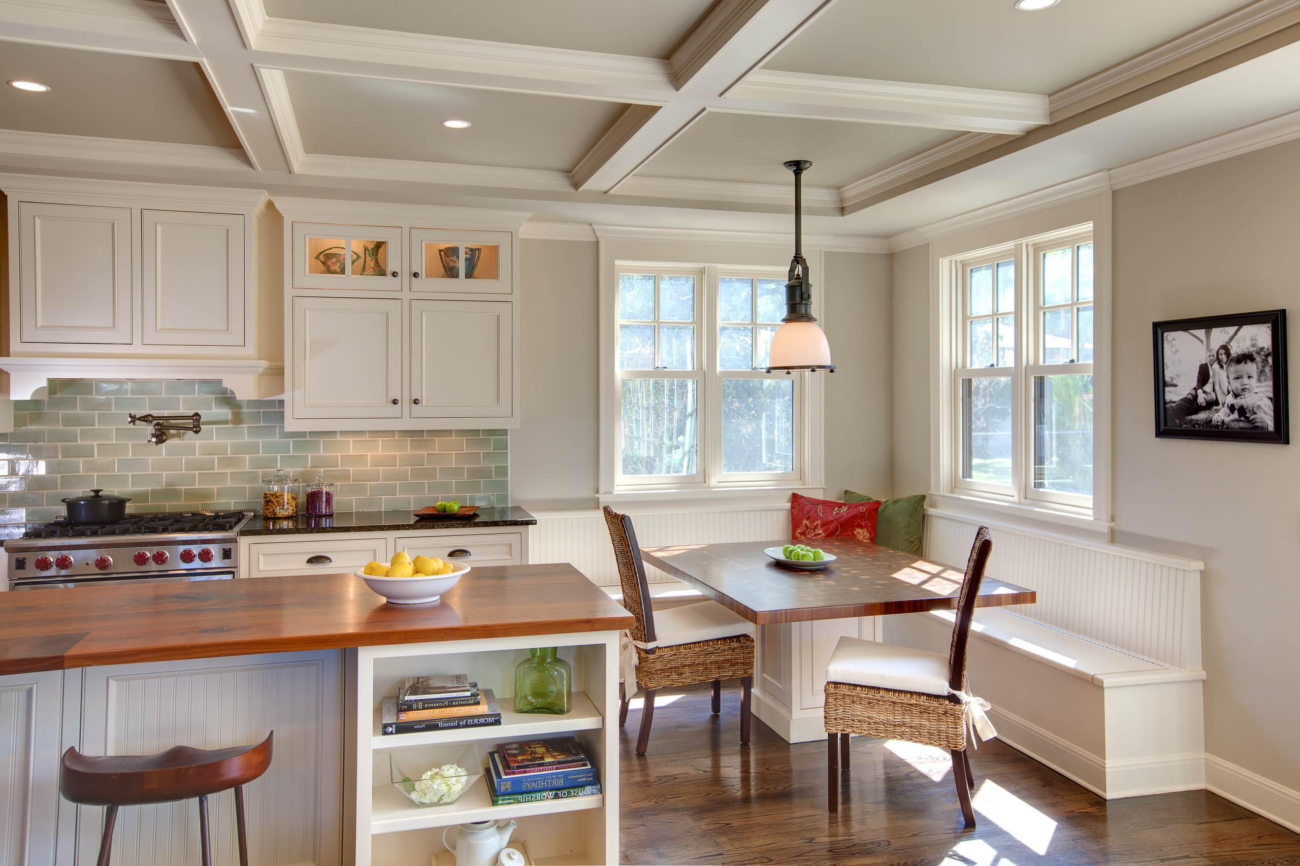 Die Kücheneckbank in der Küche