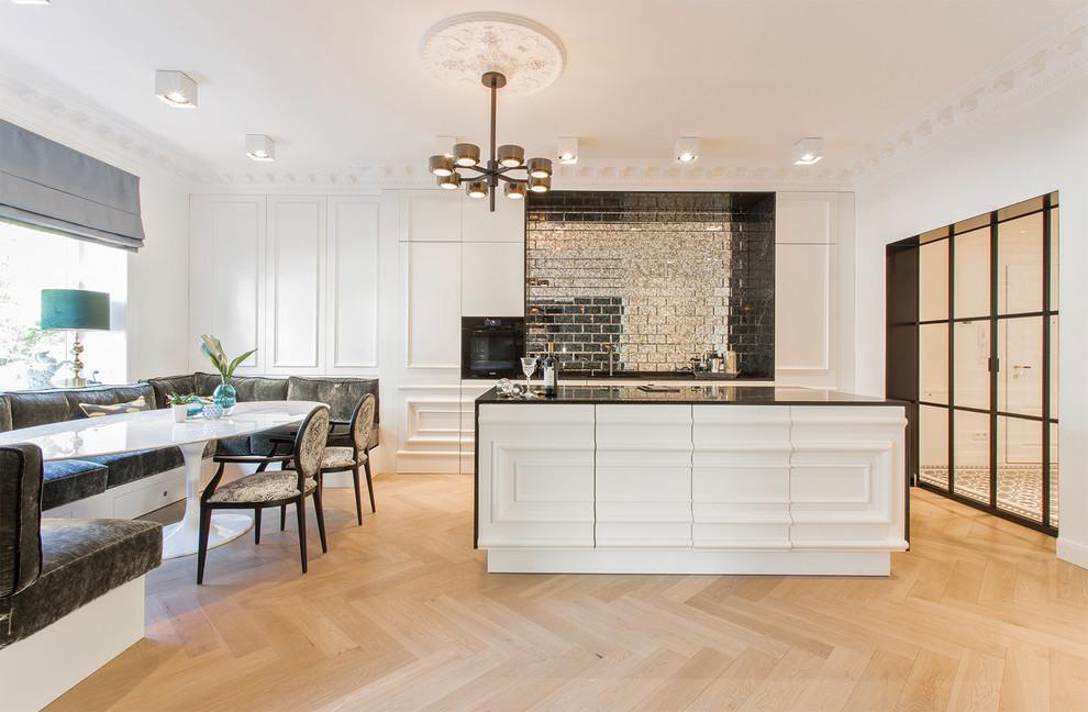 Eine wunderschöne Sitzecke in der Küche