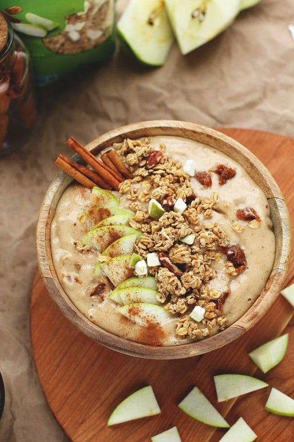 Lecker und Gesund: Der Apfel Smoothie ist ein gutes Frühstück für jeden Tag