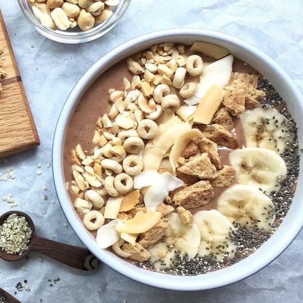 Ein süßes Frühstück für den Sommer: Schokoladen Smoothie