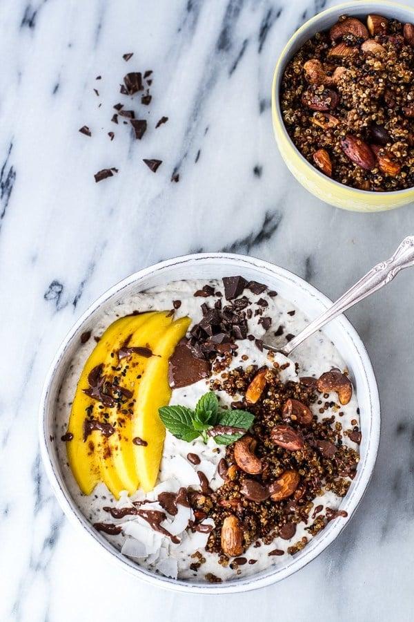 Ein gutes Frühstück für jeden Tag: Kokos Smoothie