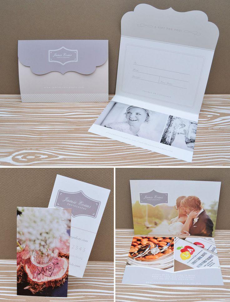 Hochzeitskarte basteln - Gutschein selber machen