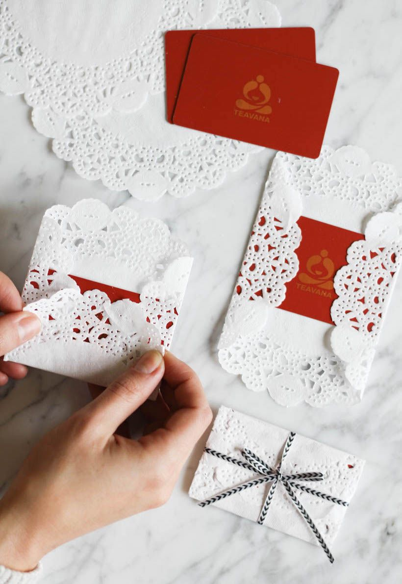 Hochzeitsgeschenk - Gutschein verpacken