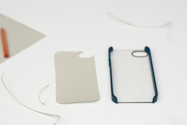 Wie kreieren Sie eine Smartphone Tasche mit Klebeband