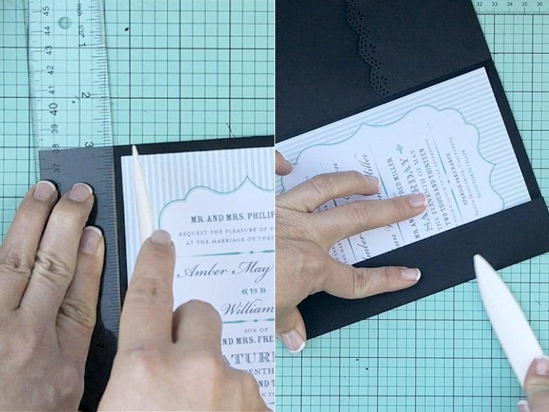 Anleitungen fürs Hochzeitskarte Basteln