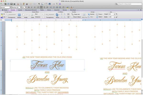 Online Hochzeitskarten selber machen