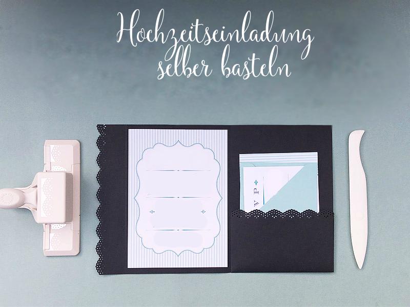 Anleitung №1 für ein mit Laser geschnittener Effekt: Briefumschlag und Hochzeitskarte basteln