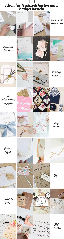 Ideen fürs einzigartige Hochzeitskarte Basteln unter Budget